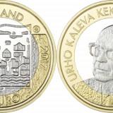 Finlanda moneda bimetal 5 euro 2017 UNC in capsula - Presedintele Urho Kekkonen, Europa