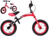 Bicicleta fara pedale cu cadru reversibil Sportrike, rosu