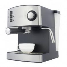 Espressor Zephyr, 15 bar, 1.6 L, 850 W, Argintiu/Negru