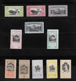 EXPOZITIA GENERALA BUCURESTI 1906, SUPRATIPAR, ATESTAT  L. PASCANU, MNH - LP 64