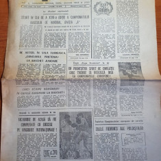 sportul 17 august 1983-cupa romaniei la tir,baschet,box