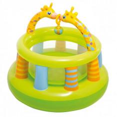 Loc de joaca gonflabil, model girafa, 1.30×1.04m