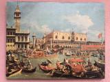 Tablou,litografie veche,dupa piata San Marco- Venetia