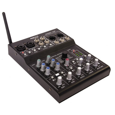 Mixer DJ BST, 6 canale, placa de sunet SUB, Bluetooth, DSP foto