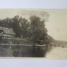 Rară! Carte poștală foto Snagov,circulată 1935