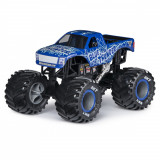 Macheta metalica Monster Jam - Blue Thunder, 1:24