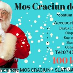 Închiriere Moș Crăciun serbări școlare,grădinițe sau domiciliu SLATINA-OLT