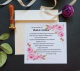Invitatie nunta cu sigiliu OPIS040