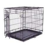 Cușcă câine Black Lux, XS - 50,8 x 33 x 38,6 cm