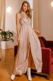 Rochie lungă cu cordon