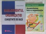 MANAGEMENTUL ORGANIZATIEI: CUNOSTINTE DE BAZA+ASCENSIUNEA INTR-O ORGANIZATIE