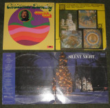 Lot 4 vinil colinde James Last,George Beverly Shea,Corul Filarmonicii