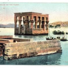 AD 926 C. P. VECHE - KIOSKE OF PHILAE ON THE FLOOD-EGYPT -CIRCULATA 1907