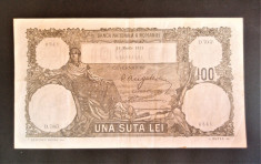 Romania....2x100 lei 1931, date diferite....de colectie foto