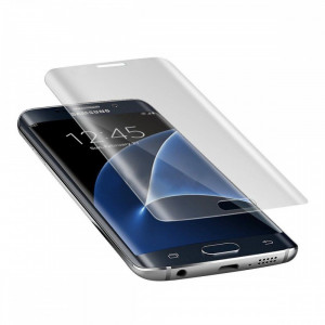Folie Sticla Samsung Galaxy S7 Edge g935 Clear Fullcover Tempered Glass Ecran Display LCD