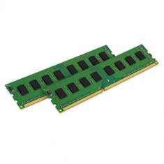 Memorii Kingston ValueRAM 16GB(2x8GB), DDR3, 1600MHz, CL11, Dual Channel