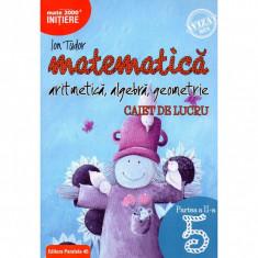 Matematica. Aritmetica, algebra, geometrie. Caiet de lucru. Clasa a V-a. Initiere. Partea a II-a, edita a 2-a 2019, autor Ion Tudor