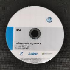 DVD hărți navigatie Volkswagen RNS 510 Europa West V16 2019 + ROMÂNIA 2019