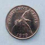 BERMUDA  -  25 Cents 1979