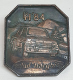 Medalia AUTO DACIA - Raliul Harghitei 1984 - Medalie Premiu ACR - RARA