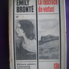 HOPCT  LA RASCRUCE DE VANTURI/ EMILY BRONTE  - 1968 - 363   PAGINI