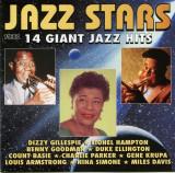 CD Jazz Stars - 14 Giant Jazz Hits: Louis Amstrong, Gene Krupe