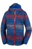 Jacheta subtire impermeabila Columbia baieti, multicolor, marimea 104 cm