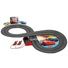 Circuit electric masinute Fulger McQueen si Jackson Storm Cars 3 Carrera First...