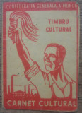 Carnet cultural Confederatia Generala a Muncii