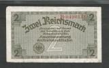 GERMANIA  NAZISTA  2 MARCI  REICHSMARK  1940 [29]  P- 137a , 7 cifre  , Litera B