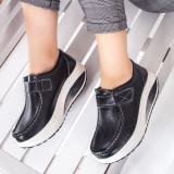 Pantofi dama Piele casual negri Visva