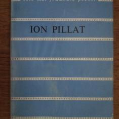 VERSURI - ION PILLAT