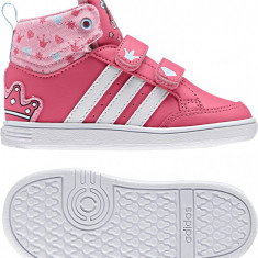 Pantofi sport copii ADIDAS HOOPS CMF MID INF - marime 20