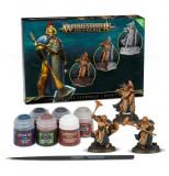 Pachet Miniaturi si Vopsele Warhammer Aos, Stormcast Eternals + Paint Set