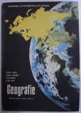 GEOGRAFIE - MANUAL PENTRU CLASA A VII -A de VOICU PAVEL si LETEA ION , 1992