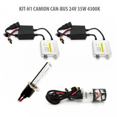 Kit HID xenon camion Carguard Canbus bec H1 24V 35W 4300K