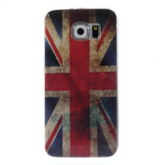 Husa Samsung Galaxy S6 - Gel TPU UK Flag
