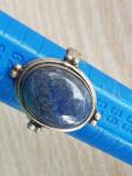 Inel LAPIS LAZULI - argint 925 - manufactura- PIATRA NATUARALA LAPIS LAZULI, 57 - 67