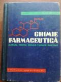 Chimie farmaceutica. Manual pentru scolile tehnice sanitare- V. Zota, D. Oteleanu