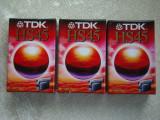 Lot 3 Casete Video TDK HS 45 VHS-C - NOI Sigilate