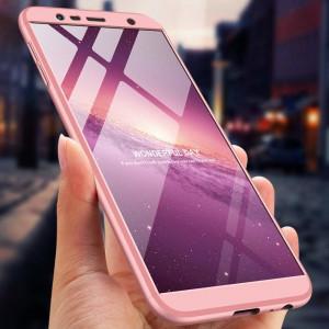 Husa Samsung Galaxy J4 Plus 2018 - GKK Protectie 360 Grade Roz