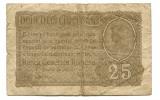 Romania 25 bani 1917 fine