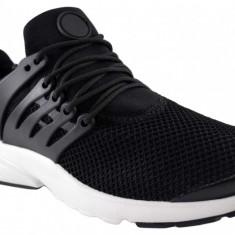 Pantofi Casual Sport Barbati Negri Panza Talpa Usoara Spuma, 41, 44, 45