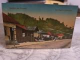 Dâmbovița- Băile Vulcana- str. Regala cu Pavilionul., Circulata, Fotografie