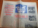 magazin 3 martie 1973-articol si foto mina paroseni