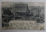 BUCURESTI - MONUMENTUL GRADINEI SARINDAR , CARTE POSTALA ILUSTRATA , MONOCROMA , CIRCULATA , CLASICA