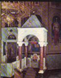 CPIB 16663 CARTE POSTALA - SOFIA. BISERICA ALEXANDRU NEVSKI, MICUL TRON, Necirculata, Fotografie