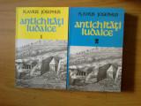 D6b Antichitati iudaice - Flavius Josephus 2 volume (carti noi)