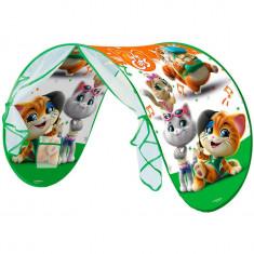 Cort pentru pat copii John 44 Cats cu lampa 220x80 cm