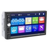 Player Mp5, cu Navigatie GPS, Functie Mirror Link, Functie Bluetooth, Adaptor Comenzi Volan